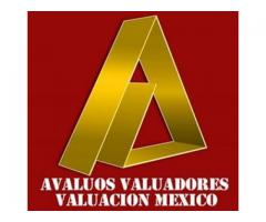 Avalúos Valuadores Valuación Mexico